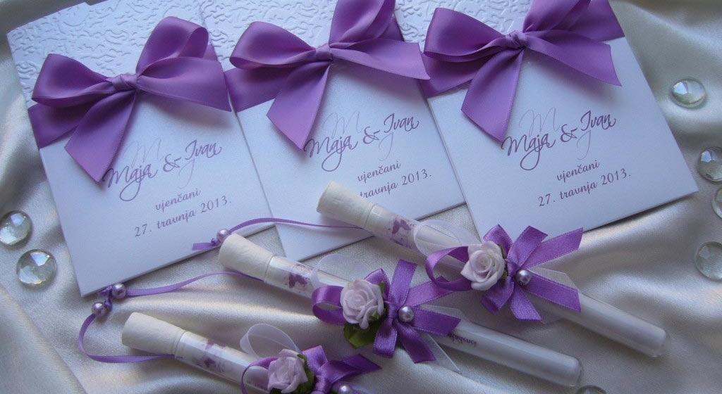 Kreativne pozivnice za vjenčanje